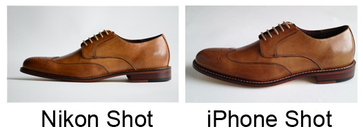 shoe_nikon_vs_iphone_lightbox
